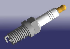 Свечи зажигания 4 шт.  Chery Fora1.6, 2.0/Tiggo 1.8