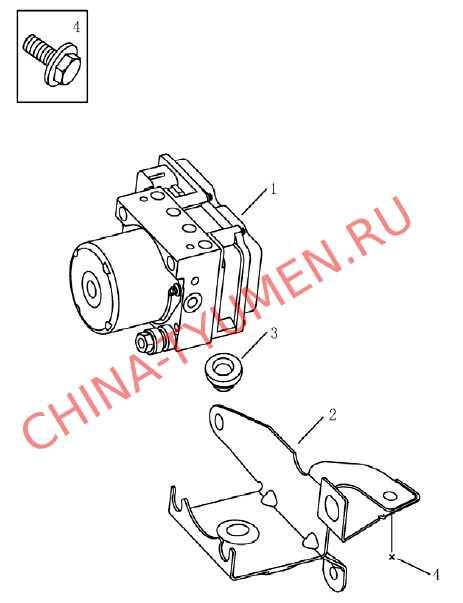 Блок управления ABS Geely Emgrand (2)