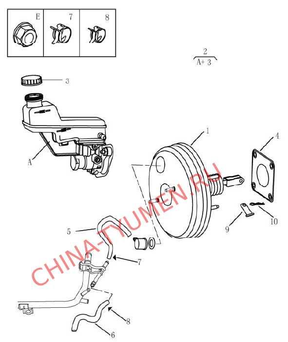 Вакуумный усилитель тормозов Geely Emgrand (2)