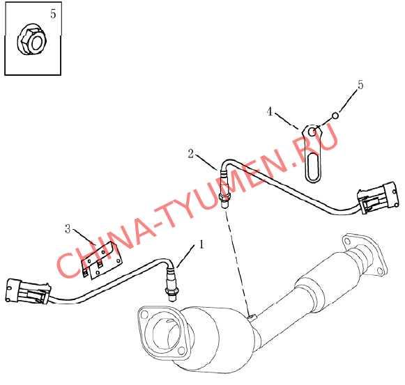 Датчики кислородные Geely Emgrand EC7 (2)