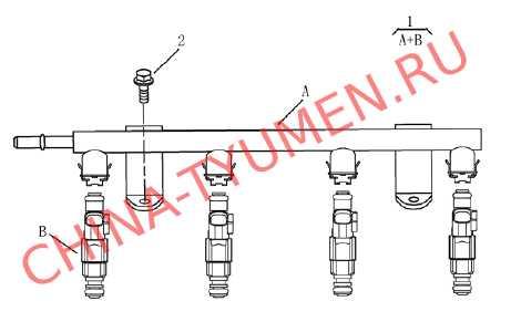 Инжектор Geely Emgrand EC7 1,5 DVVT