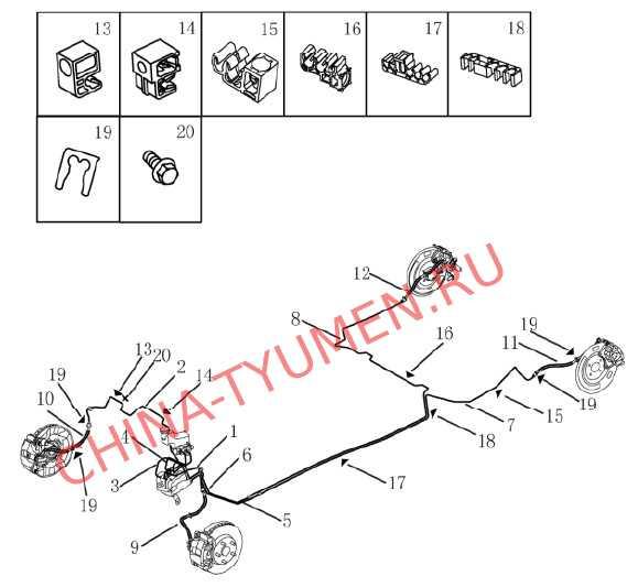 Трубопровод тормозной системы (вариатор) (2)