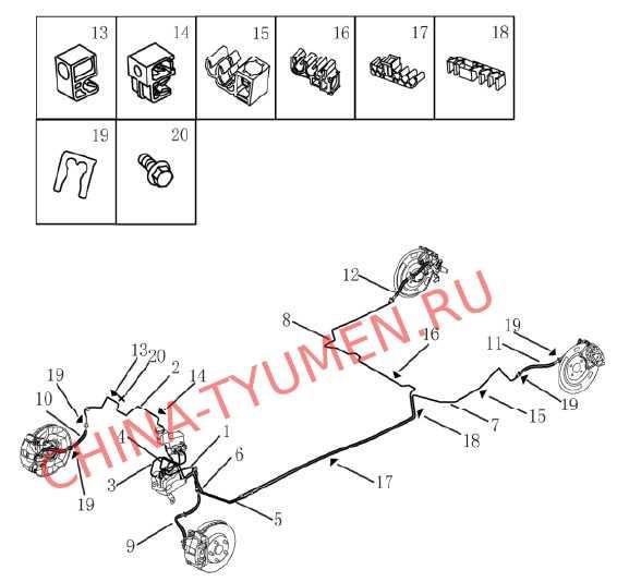 Трубопровод тормозной системы (механика) (2)