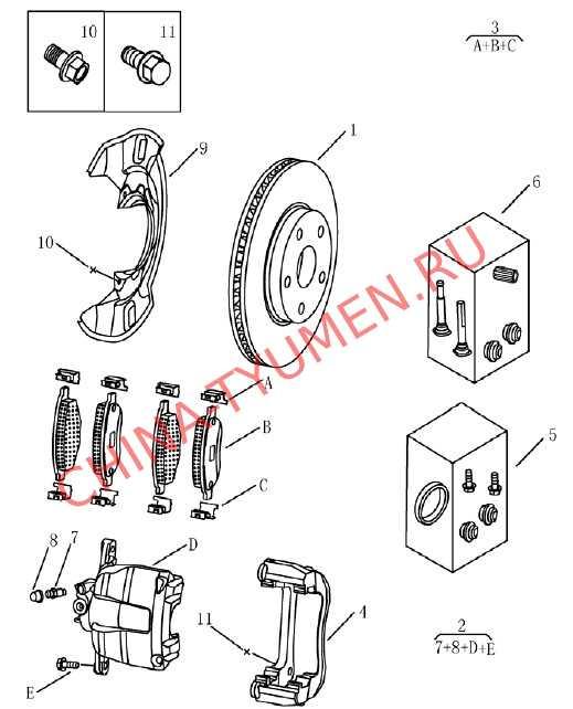 передняя тормозная система (2)